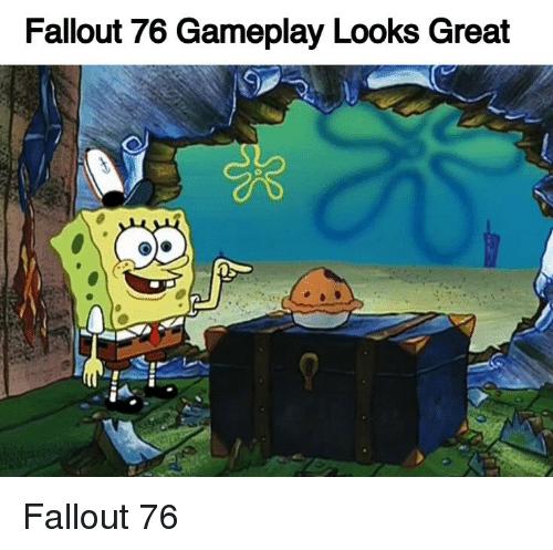 Fallout 76 meme