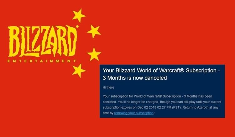 blizzard bojkot